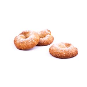 rosquilla artesanas elaboradas con harina frita