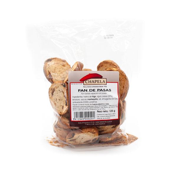 bolsa de pan de pasas