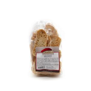 bolsa de mini chapatas tostadas