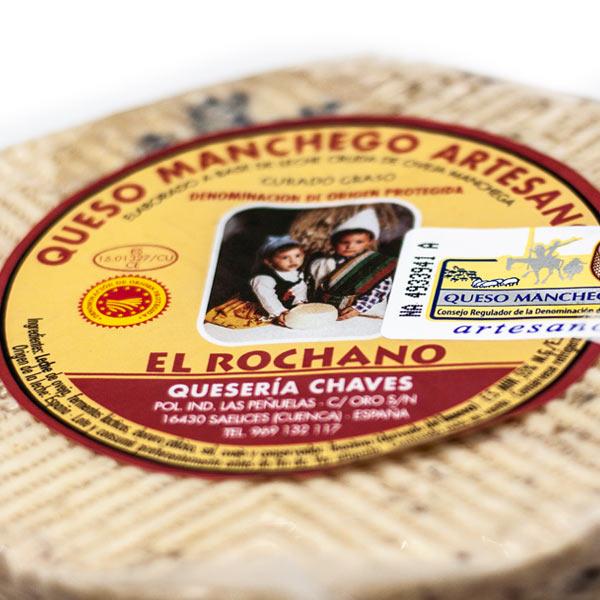 comprar queso manchego curado rochano