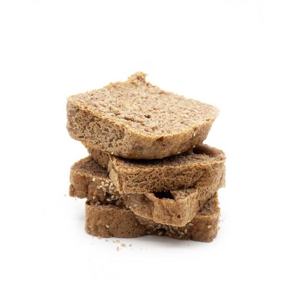 rebanadas de pan de molde integral