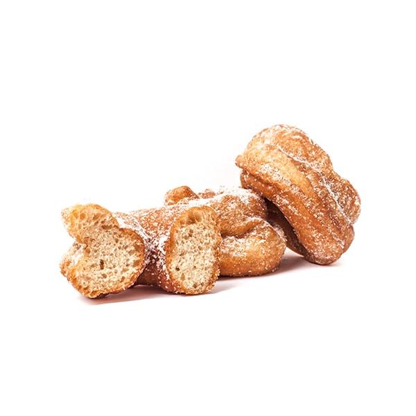 rosquillas de sartén hechas con ingredientes naturales